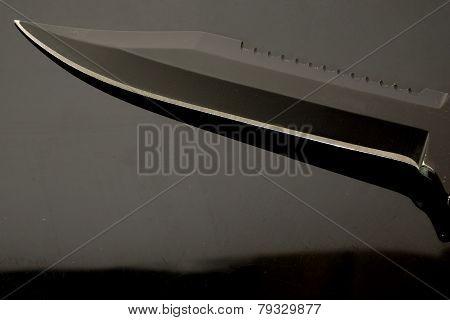 Dark sharp blade