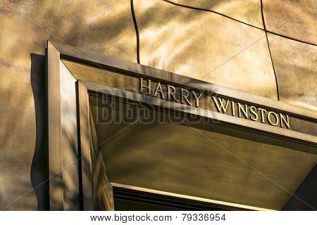 Harry Winston Retail Store Exterior