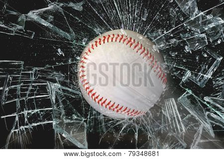 Baseball Through Glass.