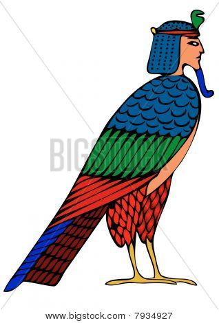 Egyptian demon - bird of souls