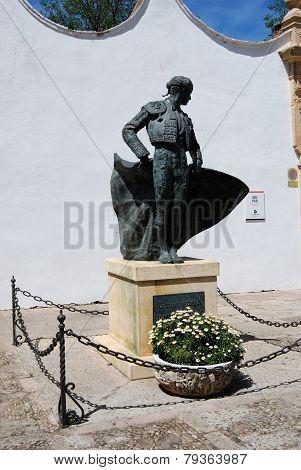 Matador statue, Ronda.