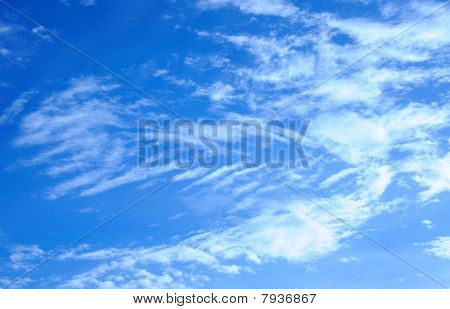 texture in the sky