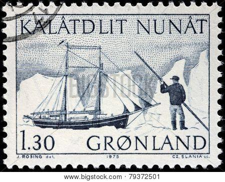 Schooner Stamp