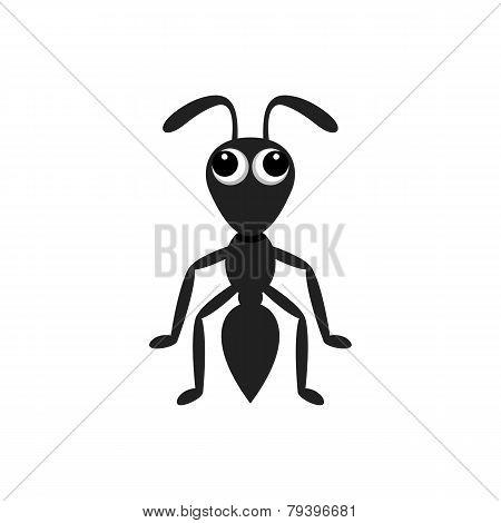 Ant Cartoon Character