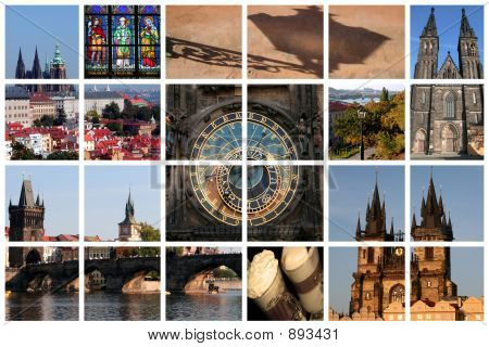 Fabulous Prague Collage