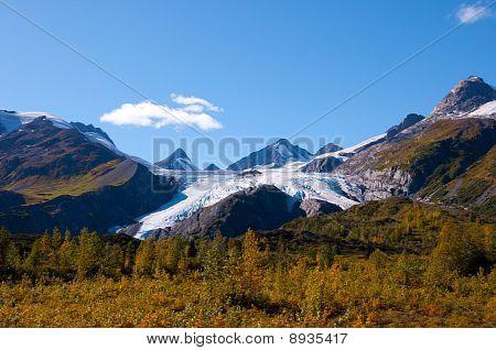 Worthington Glacier Alaska