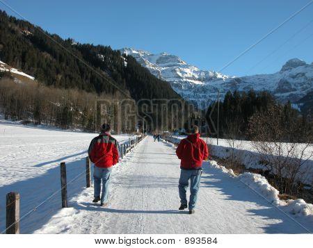 Walking The Lenk Trail