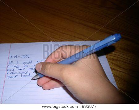Hand Writing 1