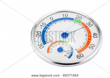 Measure Humidity And Temperature