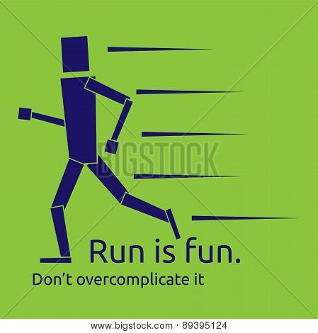 Run Is Fun Concept