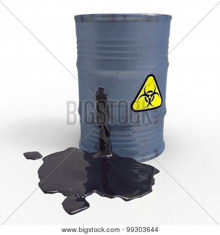 Leakage of biologically hazardous waste
