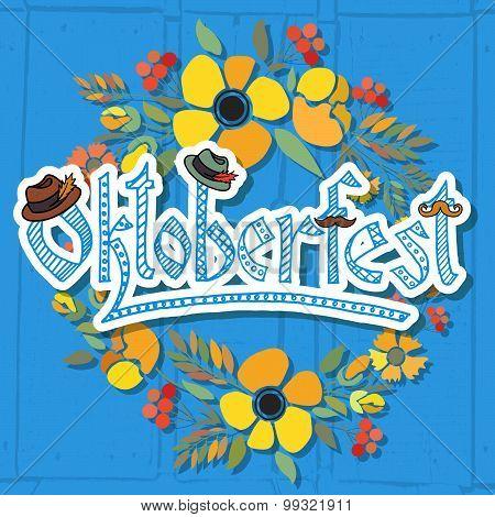 Hand Sketched Oktoberfest Icon