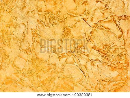 Decorative Plaster Yellow-orange