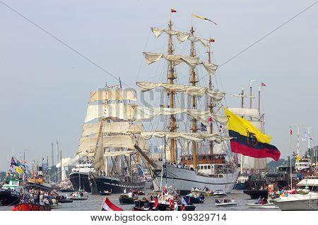 Colombian Navy Tallship Arc Gloria