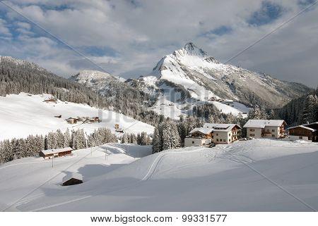 Mount Biberkopf, Warth Am Alberg, Vorarlberg, Austria