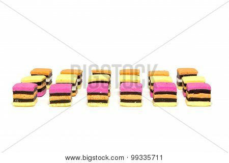 Licorice Allsorts Rows