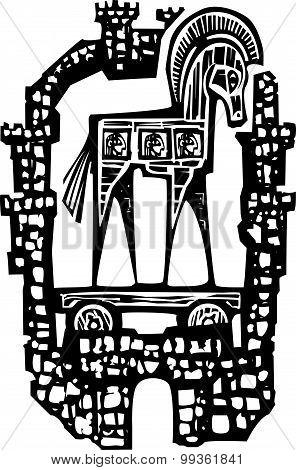 Trojan Horse In Walls