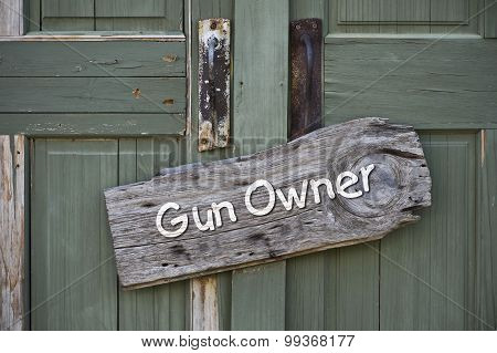 Gun Owner.