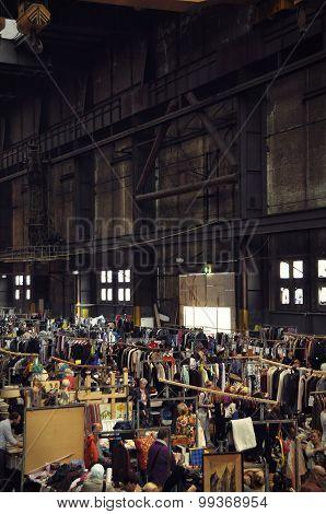 The Ijhallen Market In The Ndsm Hall