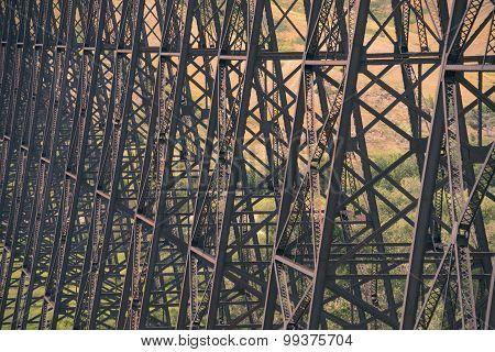 Trestles of High Level Bridge