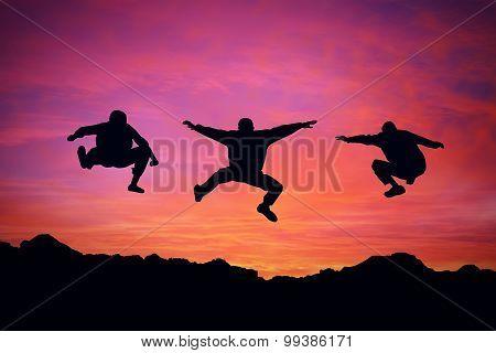 Sunset freedom