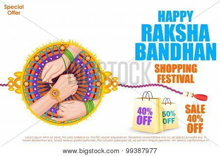 Raksha bandhan shopping Sale