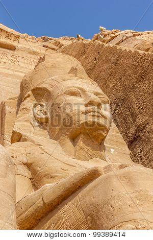 Detail Colossus Abu Simbel