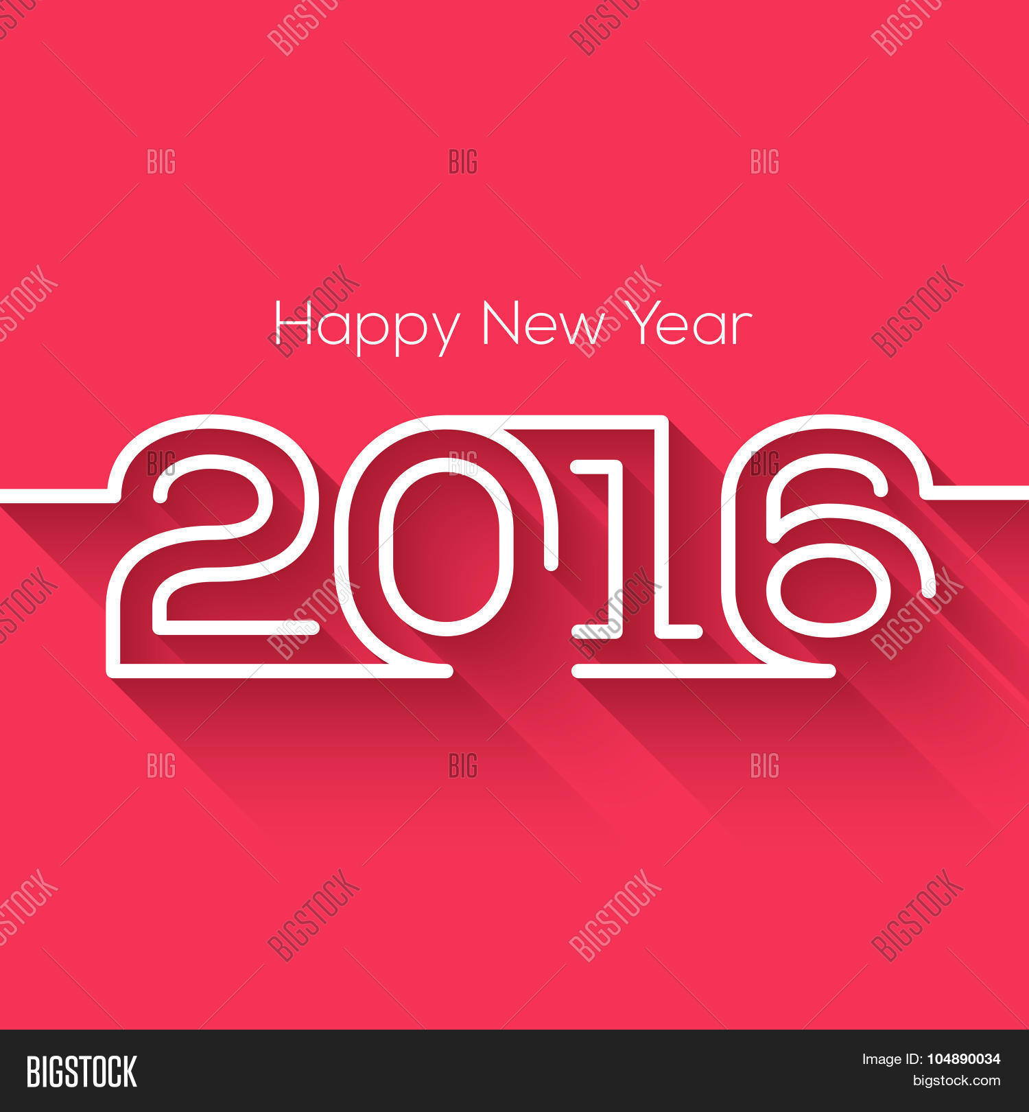 creative happy new year 2016 design flat design happy new year 2016 creative greeting