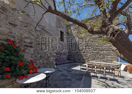The Venetian castle in Naxos island, Cyclades