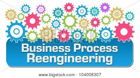 Business Process Reengineering Colorful Gears