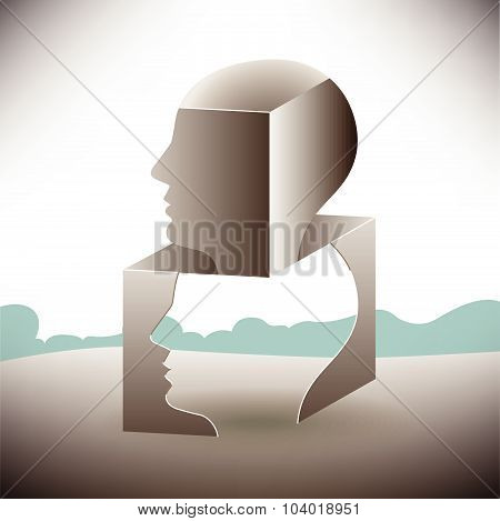 Man Stress Landscape