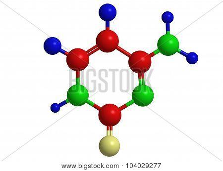Molecular Structure Of Cytosine