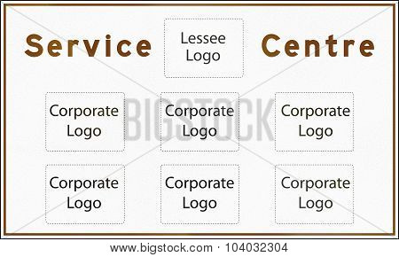 Blank Service Centre Sign In Ontario - Canada