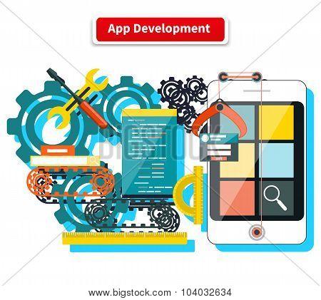 App Development Concept
