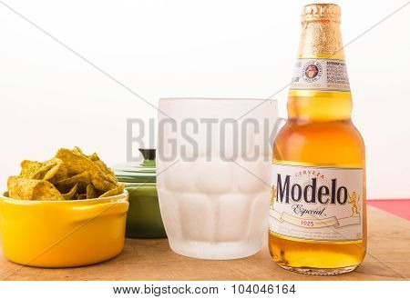 Beer With Frosted Mug