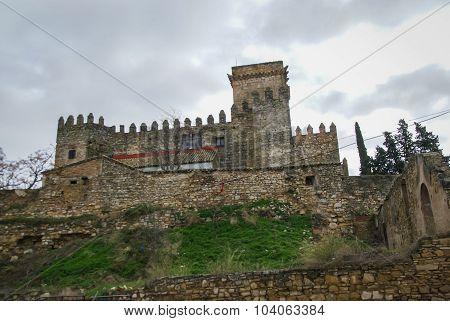Castle At Espejo, Andalusia, Spain