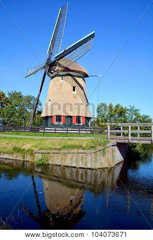 Windmill in Edam