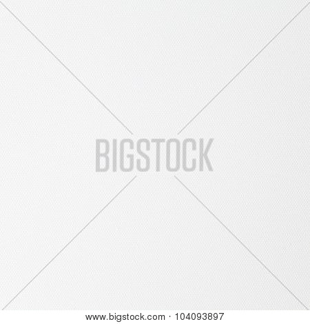 White canvas fabric texture and background seamless