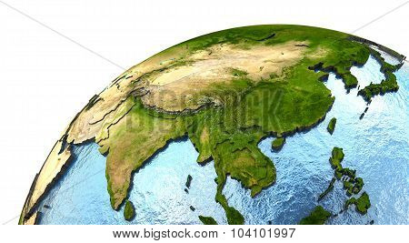 Southeast Asia On Earth