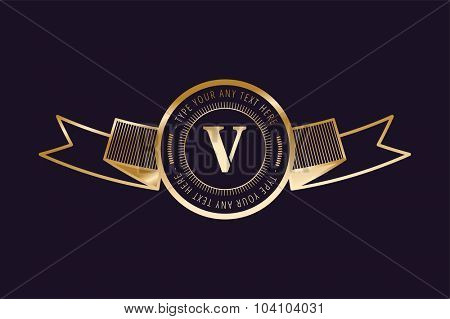 Vintage old style shield icon. Shield logo. Vintage shield logo. Lawyer logo, lawyer V letter logo icon,kings royal logo, knight logo, premium quality logo.Shield logo. Royal logo,hotel logo,crest