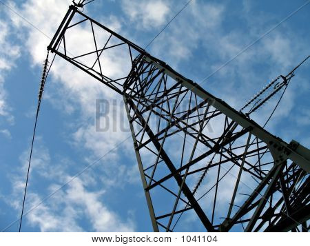Electric High Voltage Line
