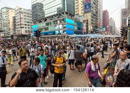 Occupy Central Protest Movement In Hong Kong