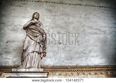 Sabina Statue In Loggia Della Signoria