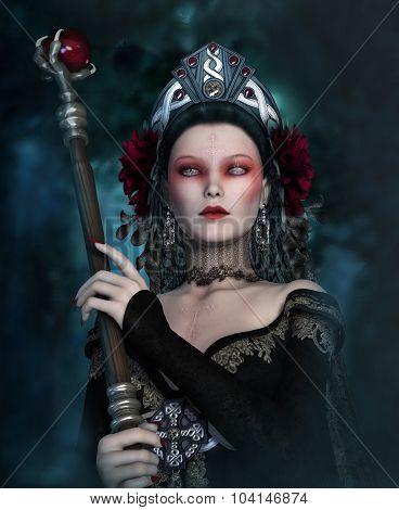 The Dark Sorceress, 3D Cg