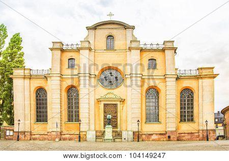 Saint Nicholas church, Galma stan, Old town of Stockholm, Sweden.