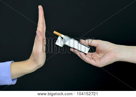 I say NO to smoking