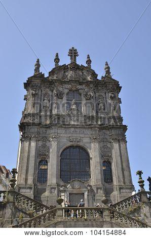 Facade Of Clerigos Church