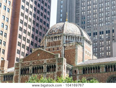 Famous St. Bartholomew's Episcopal church
