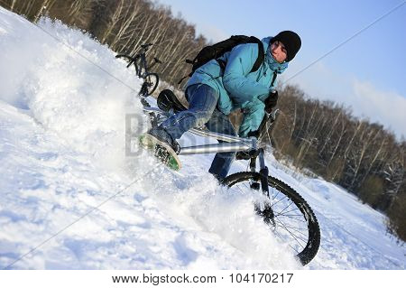 Extreme winter cycling