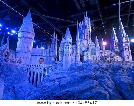 Scale Model Of Hogwarts